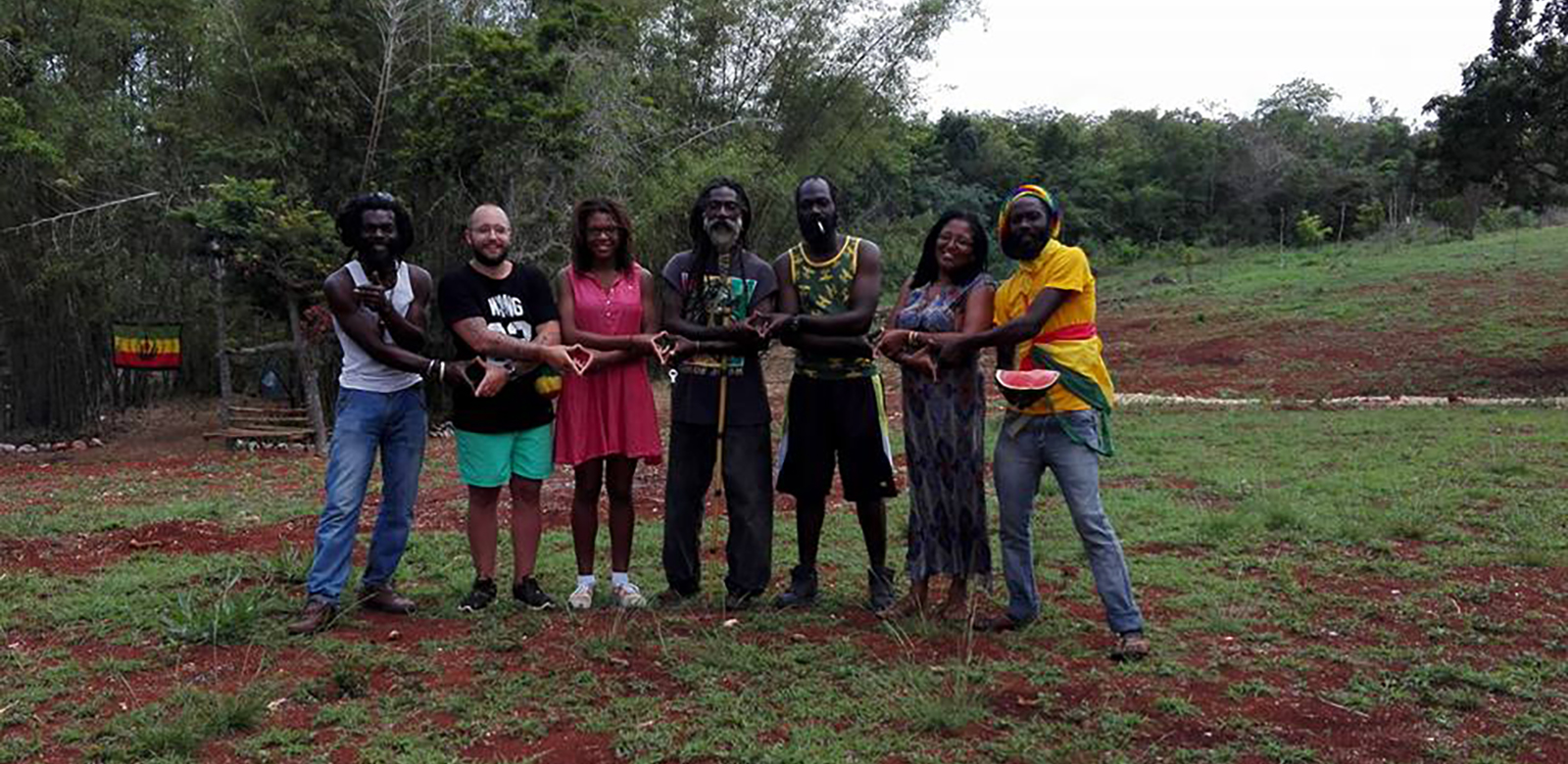 Rastafari Fyah Key Gardens Jamaica Rappa Rasta Tours