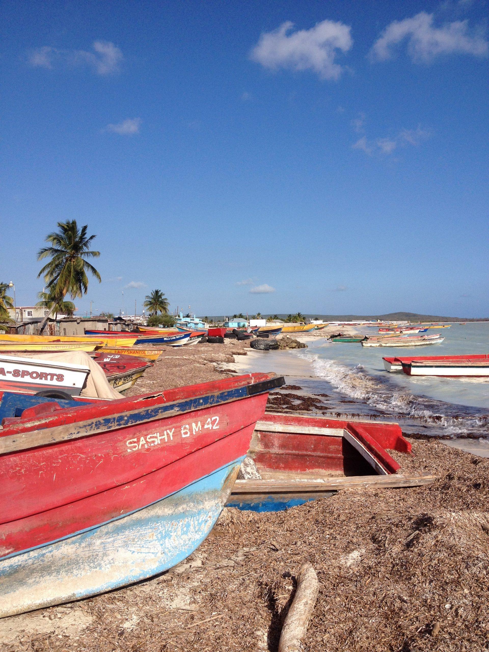 local fishermen boat Jamaica Rappa Rasta Tours