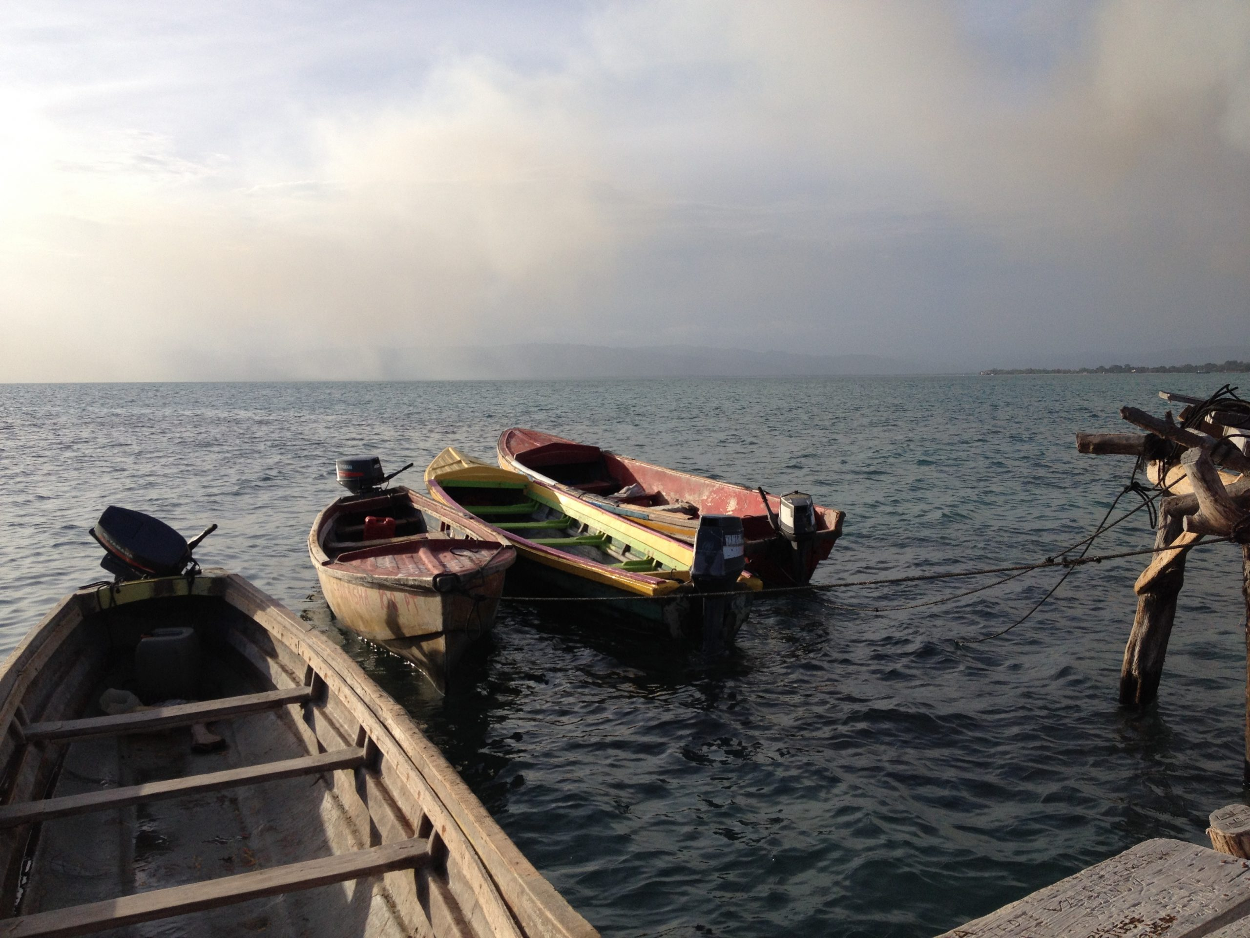 fishermen boats Jamaica @Sandra Smits