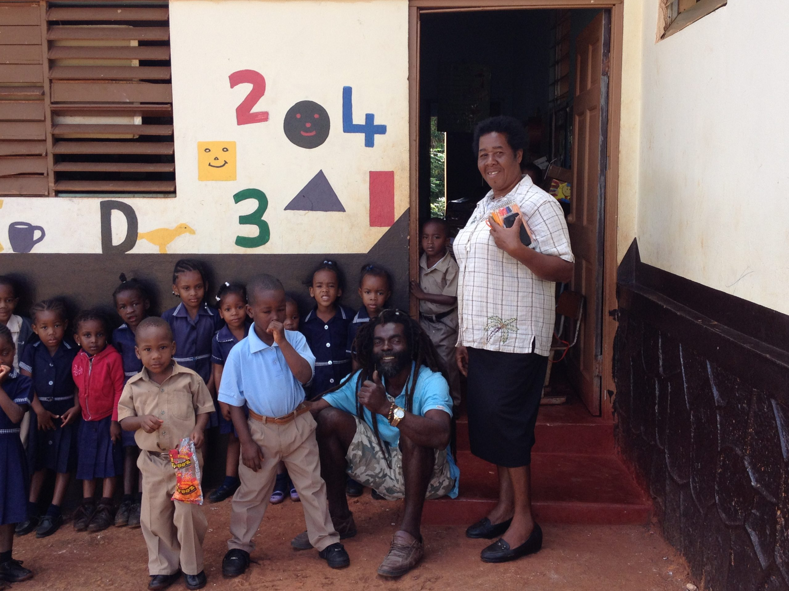 school children Jamaica @Sandra Smits