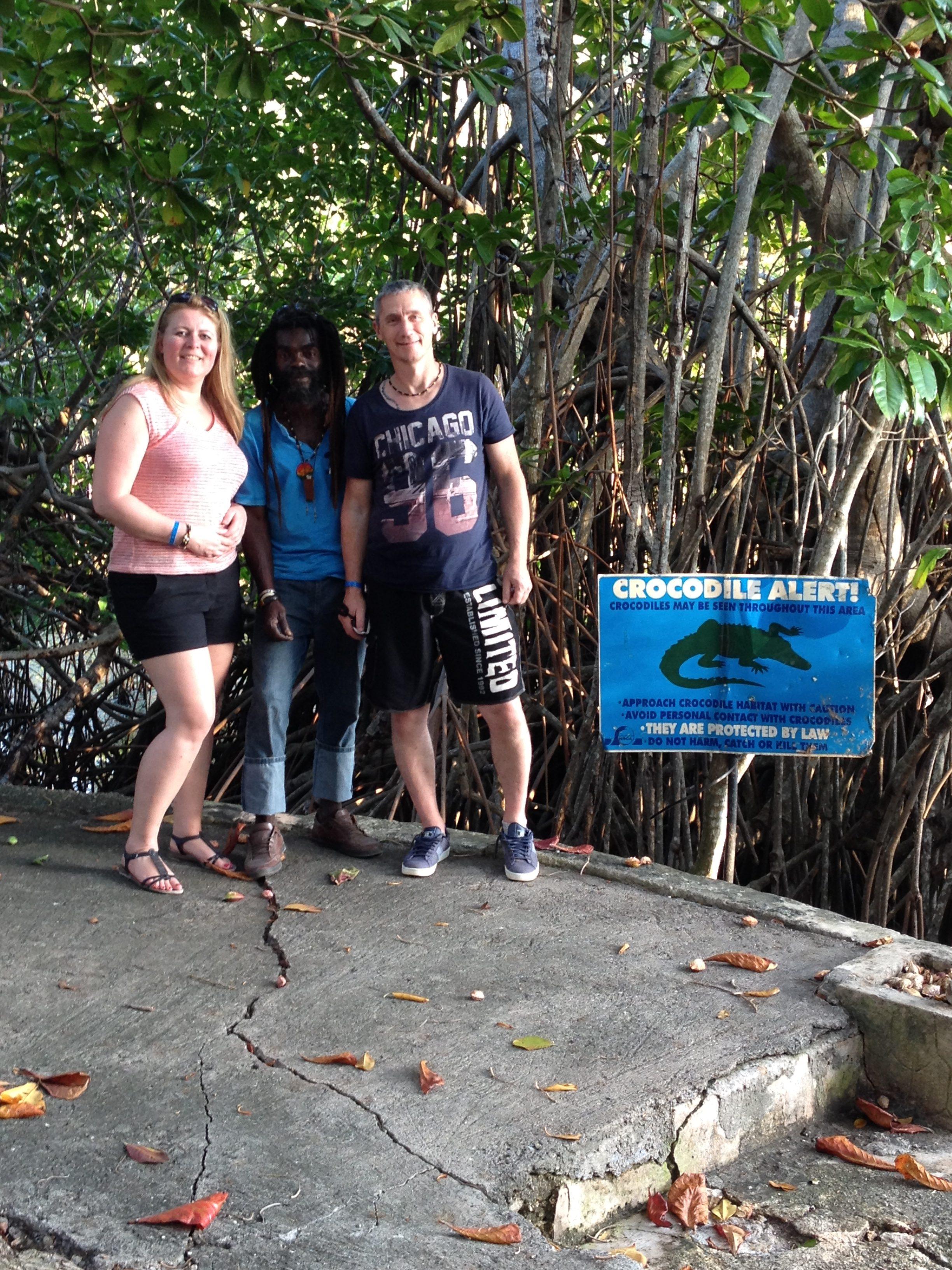 crocodile Jamaica @Sandra Smits