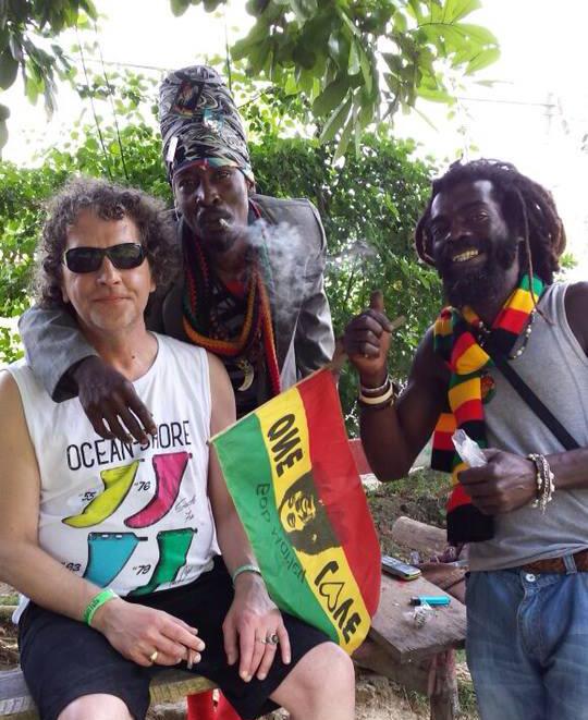 Meet locals Rastafari Rappa Rasta Tours Jamaica