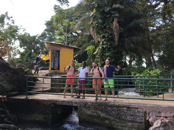 Roaring River Bridge Rappa Rasta Tours