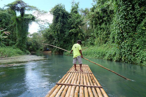 Martha Brae Bamboo Raft